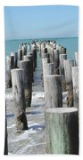 Naples Pier Bath Towel