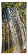 Narada Falls Rainbow Bath Towel