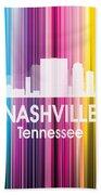 Nashville Tn 2 Squared Hand Towel
