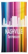Nashville Tn 2 Vertical Hand Towel