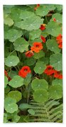 Nasturtiums Bath Towel