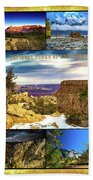 National Parks Of The West Bath Towel
