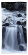 Natural Bridges Falls 02 Bath Towel