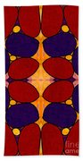 Naturally Dimensional Abstract Bliss Art By Omashte Bath Towel