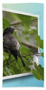 Nature Bird Bath Towel
