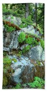 Nature's Collage Bath Towel