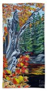 Natures Faces Hand Towel
