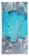 Nautical Beach And Fish #8 Bath Towel