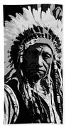 Navajo Indian Chief Bath Towel