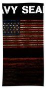 Navy Seals Flag Bath Towel