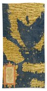 Indochinese Peninsula And Major Islands Of Indonesia Bath Towel