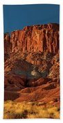 Near The Fluted Wall In Capitol Reef National Park Utah Bath Towel