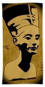 Nefertiti Egyptian Queen Bath Towel