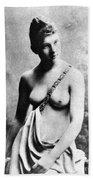 Neoclassical Nude Bath Towel