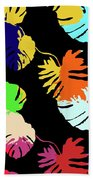 Neon Palm  Bath Towel