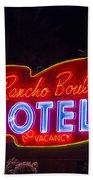 Neon Sign Bath Towel