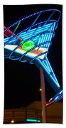 Neon Signs 4 Bath Towel