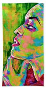 Neon Vibes Painting Hand Towel