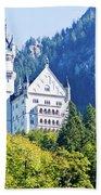 Neuschwanstein Castle 1 Bath Towel