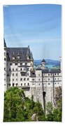 Neuschwanstein Castle Of Germany Bath Towel