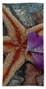 Never Forgotten- Starfish Art Bath Towel