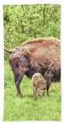 New Born Bison Bath Towel