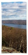 New Jersey Mountaintop View Bath Towel
