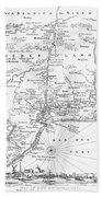 New Netherlands 1656 Bath Towel