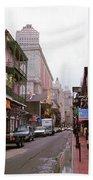 New Orleans Bourbon Street 2004 #45 Bath Towel