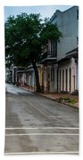 New Orleans French Quarter Special Morning Bath Towel