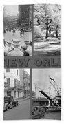 New Orleans Nostalgia Bath Towel