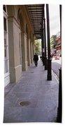 New Orleans Sidewalk 2004 Hand Towel