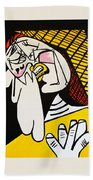 New Picasso The Weeper 2 Bath Towel
