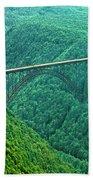 New River Gorge Bridge Bath Towel