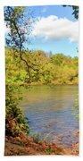 New River Views - Bisset Park - Radford Virginia Bath Towel