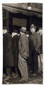 New York: Bread Line, 1907 Hand Towel
