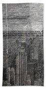 New York City 1 Bath Towel