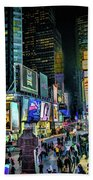 New York City Times Square Bath Towel
