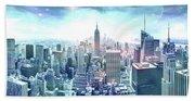 New York Fairytales Bath Towel