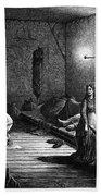 New York: Homeless, 1873 Bath Towel