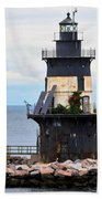 New York Lighthouse-3 Bath Towel