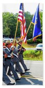 New York State Police Color Guard  6 Bath Towel