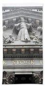 New York Stock Exchange Bath Towel