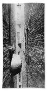 New York: Tenement, C1890 Bath Towel