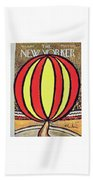 New Yorker April 12 1958 Bath Sheet