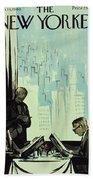 New Yorker January 16 1960 Bath Sheet