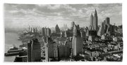 New Your City Skyline Bath Towel