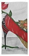 Nfl 49ers Stiletto Bath Towel