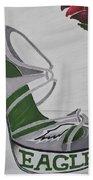 Nfl Eagles Stiletto Bath Towel