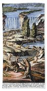 Niagara Falls: Beavers, 1715 Bath Towel